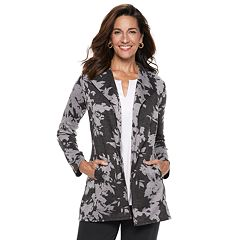 Women's Dana Buchman Everyday Casual Open Front Cardigan