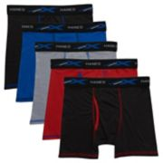 Boys 4-20 Hanes 5-Pack Boxer Briefs