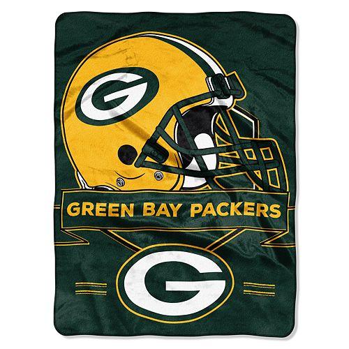 Green Bay Packers Prestige Throw Blanket
