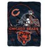 Chicago Bears Prestige Throw Blanket