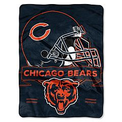 Chicago Bears Prestige Throw Blanket