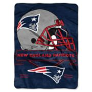 New England Patriots Prestige Throw Blanket