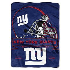 New York Giants Prestige Throw Blanket