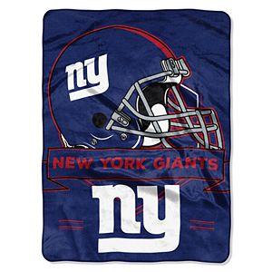 New York Giants Prestige Throw Blanket