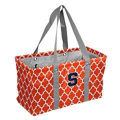 Logo Brand Syracuse Orange Quatrefoil Picnic Caddy Tote