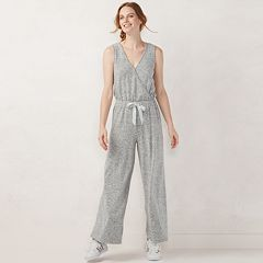 Women's LC Lauren Conrad Weekend Surplice Jumpsuit