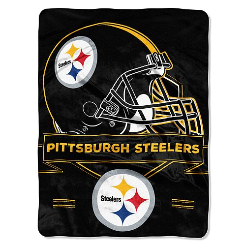Pittsburgh Steelers Prestige Throw Blanket