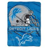 Detroit Lions Prestige Throw Blanket