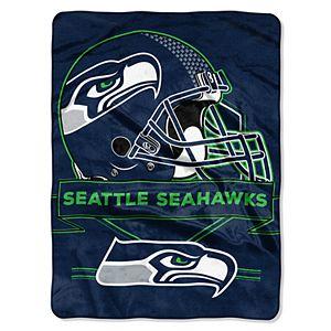 Seattle Seahawks Prestige Throw Blanket