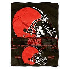Cleveland Browns Prestige Throw Blanket