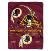 Washington Redskins Prestige Throw Blanket