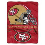San Francisco 49ers Prestige Throw Blanket