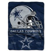Dallas Cowboys Prestige Throw Blanket