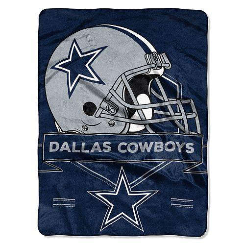 Dallas Cowboys Prestige Throw Blanket