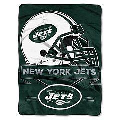 New York Jets Prestige Throw Blanket