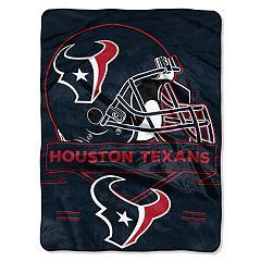 Houston Texans Prestige Throw Blanket