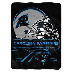 Carolina Panthers Prestige Throw Blanket