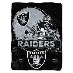Oakland Raiders Prestige Throw Blanket