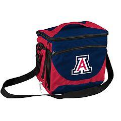 Logo Brand Arizona Wildcats 24-Can Cooler