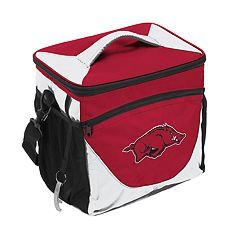 Logo Brand Arkansas Razorbacks 24-Can Cooler