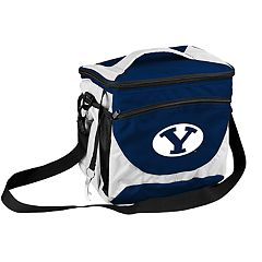 Logo Brand BYU Cougars 24-Can Cooler