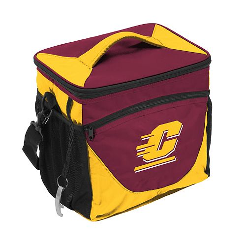 Logo Brand Central Michigan Chippewas 24-Can Cooler