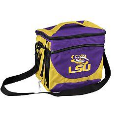 Logo Brand LSU Tigers 24-Can Cooler