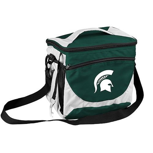 Logo Brand Michigan State Spartans 24-Can Cooler