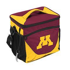 Logo Brand Minnesota Golden Gophers 24-Can Cooler
