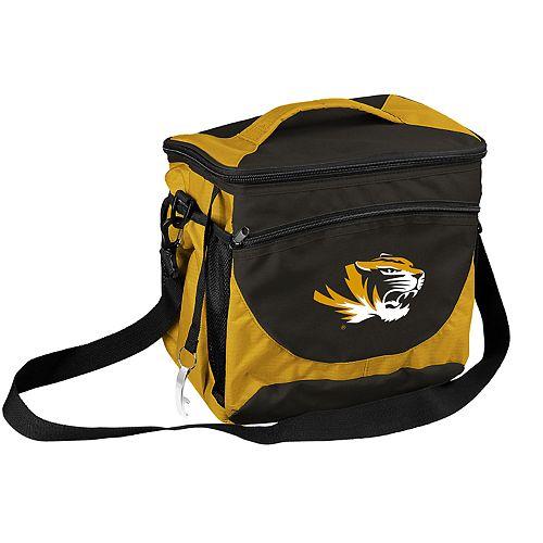 Logo Brand Missouri Tigers 24-Can Cooler