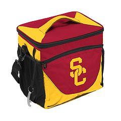 Logo Brand USC Trojans 24-Can Cooler