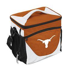 Logo Brand Texas Longhorns 24-Can Cooler