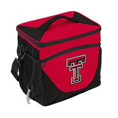 Logo Brand Texas Tech Red Raiders 24-Can Cooler
