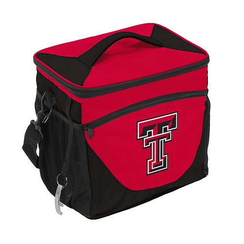 Logo Brand Texas Tech Red Raiders 24-Can Cooler