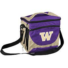 Logo Brand Washington Huskies 24-Can Cooler