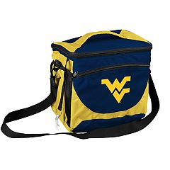 Logo Brand West Virginia Mountaineers 24-Can Cooler