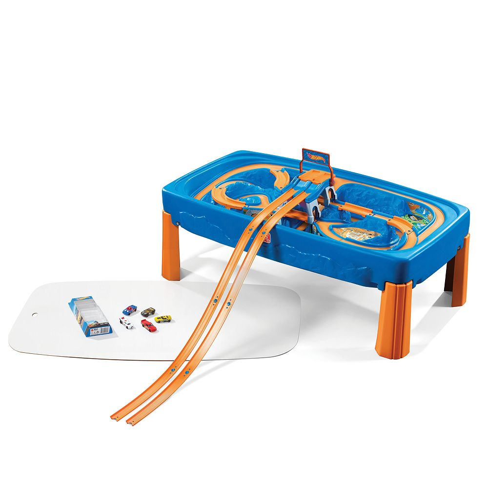 Hot Wheels Race Car & Track Play Table by Step2