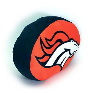 Denver Broncos Logo Pillow