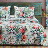Barefoot Bungalow Flamingo Quilt Set