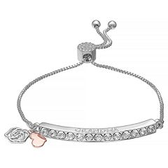 Brilliance Adjustable 'Grandma' Bracelet with Swarovski Crystals
