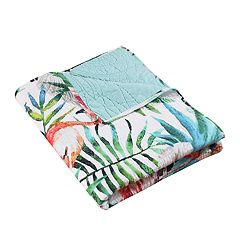 Barefoot Bungalow Flamingo Throw