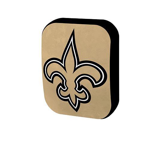 New Orleans Saints Logo Pillow