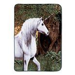 Hi Pile Unicorn Luxury Oversized Throw