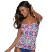 Women's Apt. 9® Twist-Front Bandeaukini Top