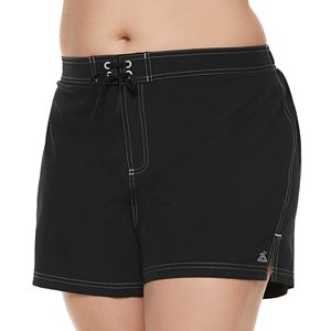 Plus Size ZeroXposur Woven Board Shorts