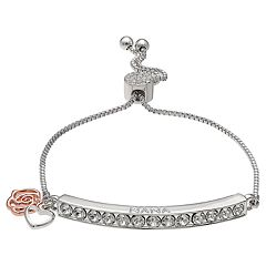 Brilliance Adjustable 'Nana' Bracelet with Swarovski Crystals