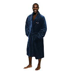 Men's New England Patriots Plush Robe