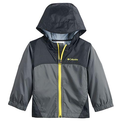 3583bedac421 Toddler Boy Columbia Glennaker Lightweight Hooded Rain Jacket