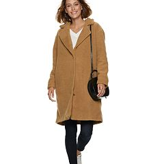 Women's POPSUGAR Teddy Bear Long Coat