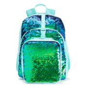 Kids Flippable Sequin Backpack & Lunch Bag Set